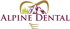 Alpine Dental Office Logo